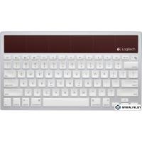 Клавиатура Logitech Wireless Solar Keyboard K760 White