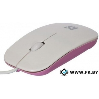 Мышь Defender NetSprinter 440 white-pink