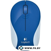Мышь Logitech Wireless Mini Mouse M187 Brave Blue (910-004180)