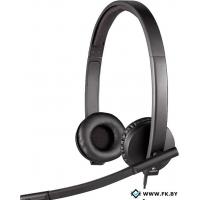 Гарнитура Logitech USB Headset Stereo H570e Black