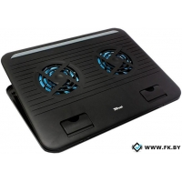 Подставка для ноутбука Trust Cyclone Notebook Cooling Stand Black (17866)