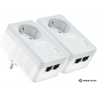 Комплект из двух powerline-адаптеров TP-Link TL-PA4020PKIT