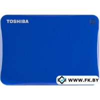 Внешний жесткий диск Toshiba Canvio Connect II 500GB Blue (HDTC805EL3AA)