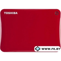 Внешний жесткий диск Toshiba Canvio Connect II 500GB Red (HDTC805ER3AA)