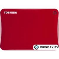Внешний жесткий диск Toshiba Canvio Connect II 500GB Red (HDTC805ER3AA)