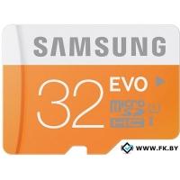 Карта памяти Samsung MicroSDHC 32GB Evo Memory (MB-MP32DA/AM)