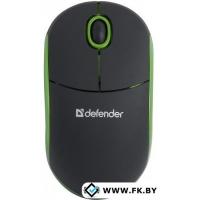 Мышь Defender Discovery MS-630 Black/Green