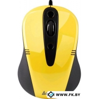 Мышь A4Tech N-370FX-2 Yellow