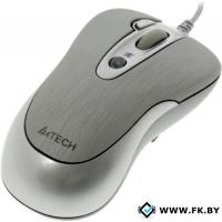 Мышь A4Tech N-61FX-1 Silver
