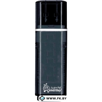 USB Flash Smart Buy Glossy Black 16GB (SB16GBGS-K)