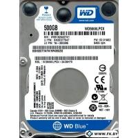 Жесткий диск WD 500GB (WD5000LPCX-24C6HT0)