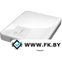 Внешний жесткий диск WD My Passport Ultra 1TB White (WDBDDE0010BWT)