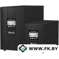 Источник бесперебойного питания Mustek PowerMust 1080 LCD (1KVA), Online, IEC (98-ONC-X1008)