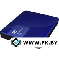 Внешний жесткий диск WD My Passport Ultra 1TB Blue (WDBDDE0010BBL)