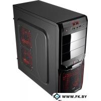 Корпус AeroCool V3X Advance Devil Red Edition 600W