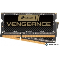 Оперативная память Corsair Vengeance 2x4GB DDR3 SO-DIMM PC3-12800 KIT (CMSX8GX3M2A1600C9)