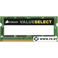 Оперативная память Corsair 4GB DDR3 SO-DIMM PC3-12800 (CMSO4GX3M1C1600C11)
