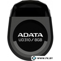 USB Flash A-Data UD310 Black 8Gb (AUD310-8G-RBK)
