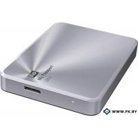 Внешний жесткий диск WD My Passport Ultra Metal Silver 2TB (WDBEZW0020BSL)