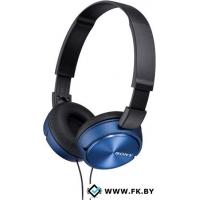 Наушники с микрофоном Sony MDR-ZX310AP Blue