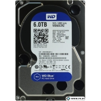 Жесткий диск WD Blue 6TB (WD60EZRZ)