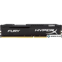 Оперативная память Kingston HyperX FURY 2x4GB DDR4 PC4-21300 [HX426C15FBK2/8]