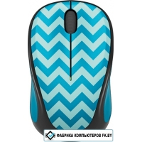 Мышь Logitech Wireless Mouse M238 Teal Chevron [910-004520]