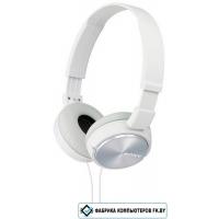Наушники с микрофоном Sony MDR-ZX310AP White