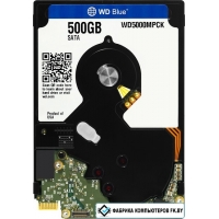 Жесткий диск WD Blue 500GB (WD5000MPCK)