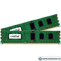 Оперативная память Crucial 2x8GB DDR3 PC3-12800 [CT2K102464BD160B]