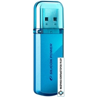 USB Flash Silicon-Power Helios 101 Blue 64GB (SP064GBUF2101V1B)