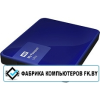 Внешний жесткий диск WD My Passport Ultra 500GB Blue (WDBBRL5000ABL)