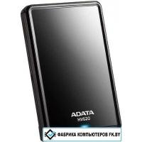 Внешний жесткий диск A-Data DashDrive HV620 1TB (AHV620-1TU3-CBK)