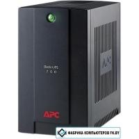Источник бесперебойного питания APC Back-UPS 700VA, 230V, AVR, IEC Sockets [BX700UI]