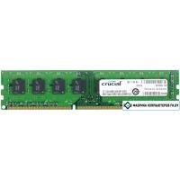 Оперативная память Crucial 8GB DDR3 PC3-12800 (CT102464BD160B)