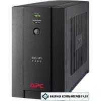 Источник бесперебойного питания APC Back-UPS 1400VA, 230V, AVR, IEC Sockets (BX1400UI)