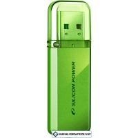 USB Flash Silicon-Power Helios 101 Green 64GB (SP064GBUF2101V1N)