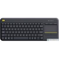 Клавиатура Logitech Wireless Touch Keyboard K400 Plus Black (920-007147)