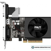 Видеокарта Palit GeForce GT 710 2GB DDR3 [NEAT7100HD46-2080F]