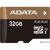 Карта памяти A-Data Premier Pro microSDHC UHS-I U1 32GB (AUSDH32GUI1-R)