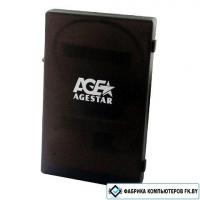Бокс для жесткого диска AgeStar SUBCP1 black