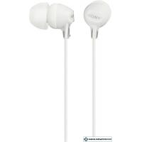 Наушники с микрофоном Sony MDR-EX15AP White