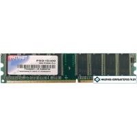 Оперативная память Patriot 1GB DDR PC-3200 (PSD1G400)