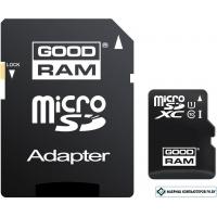 Карта памяти GOODRAM microSDHC (Class 10) UHS-I 16GB + адаптер [M1AA-0160R11]