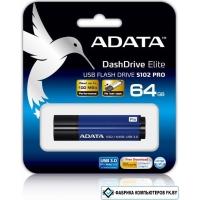 USB Flash A-Data S102 Pro Advanced 64GB (AS102P-64G-RBL)