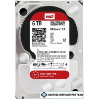 Жесткий диск WD Red Pro NAS 6TB [WD6001FFWX]