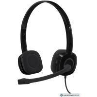 Наушники с микрофоном Logitech Stereo Headset H151 [981-000589]
