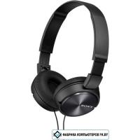 Наушники с микрофоном Sony MDR-ZX310AP, Black