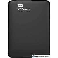 Внешний жесткий диск WD Elements Portable 3TB [WDBU6Y0030BBK]