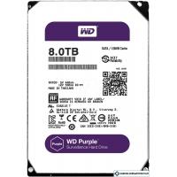 Жесткий диск WD Purple 8TB [WD80PUZX]